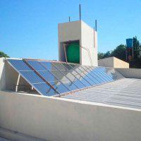 Instalação boiler aquecimento solar